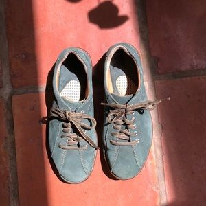 Born Green Suede Sneakers